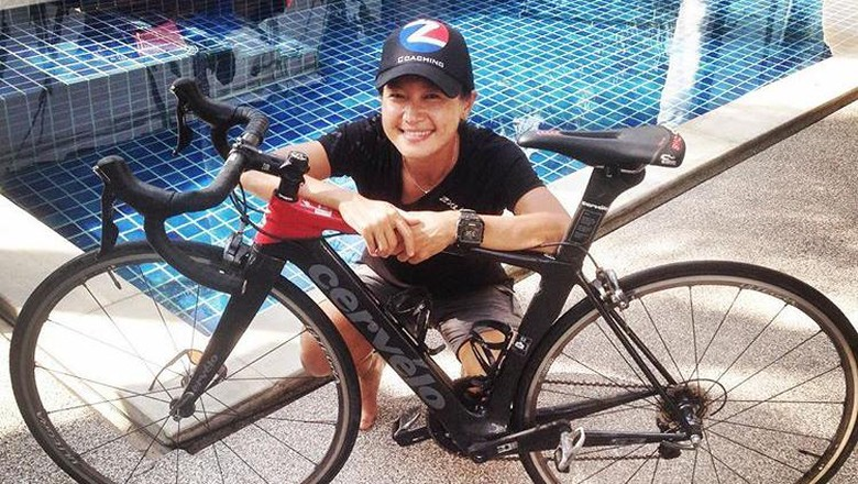 Inge Geber Persiapan 6 Bulan ke Ironman World Championship 2017