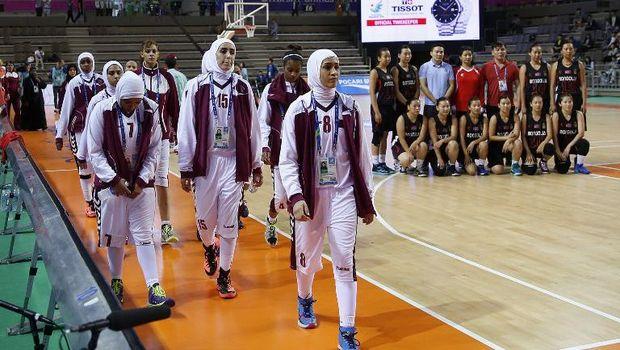 Timnas basket putri Qatar mundur dari Asian Games 2014