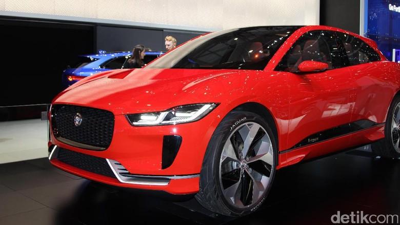 Mobil Listrik Jaguar I-Pace Mengaspal di Indonesia 2019?