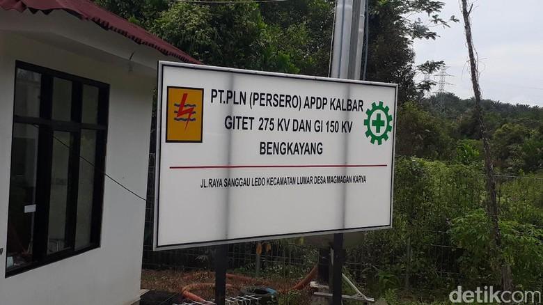 Mengintip Gardu Listrik PLN di Perbatasan RI-Malaysia
