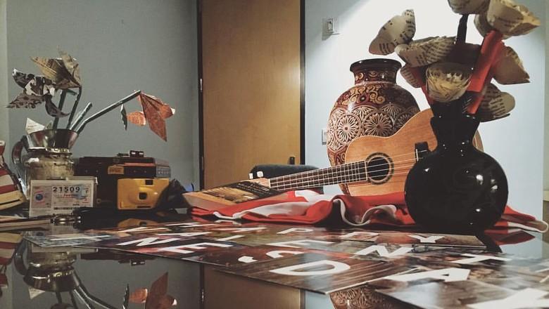 Foto: Aneka barang peninggalan sang mantan di Museum of Broken Relationships (Museum of Broken Relationships)