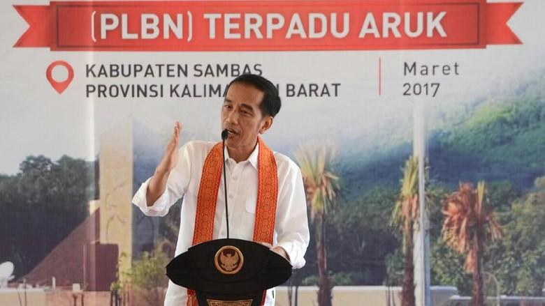 Jokowi Ingin Pos Perbatasan Jadi Gerbang Ekspor Produk Lokal