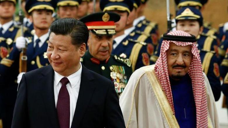 Raja Salman Terbang ke China, Teken Kerja Sama Proyek Rp 864 T