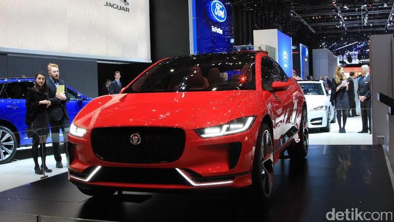 SUV Listrik dari Jaguar Mulai Diproduksi