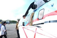 Hari Kedua di Kalbar, Presiden Meresmikan PLBN Aruk
