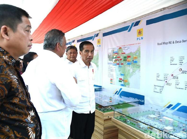 Jokowi ke Jonan: Prioritaskan Gas untuk Pembangkit Listrik