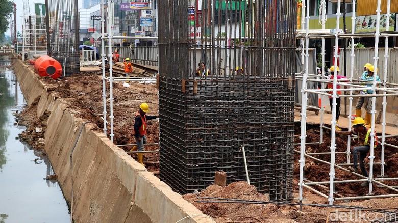 Proyek LRT Jakarta Warisan Ahok Dikebut Rampung Akhir 2017
