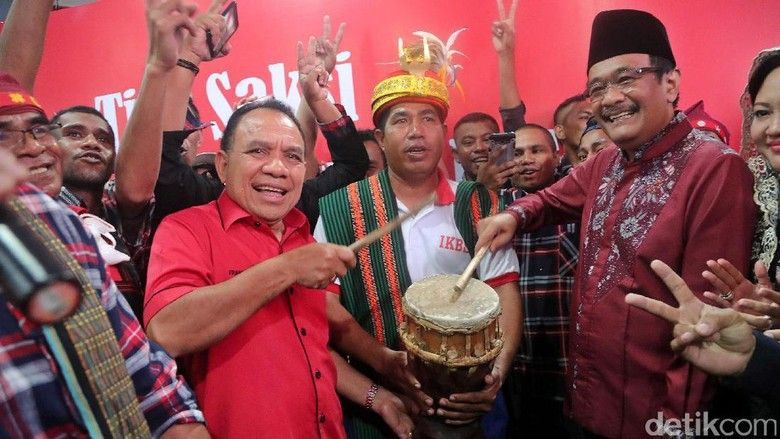 Warga NTT di Jakarta Dukung Ahok-Djarot