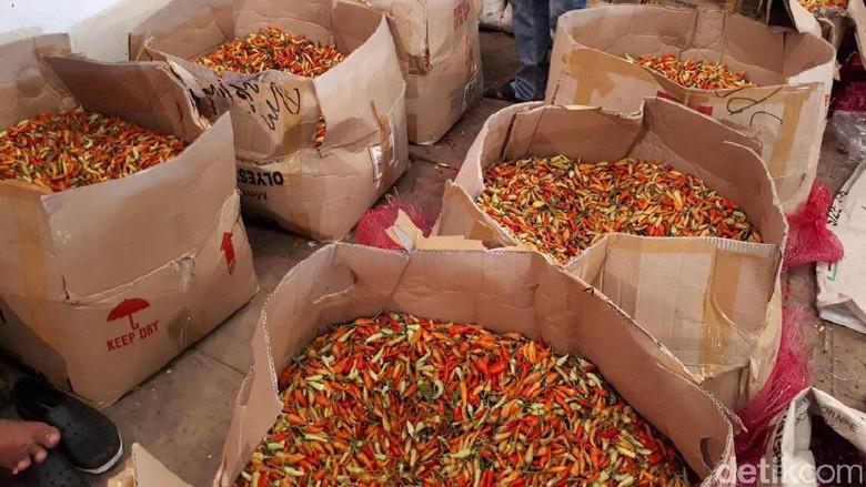 Harga Cabai Rawit Merah Turun Rp 10.000-Rp 20.000/Kg