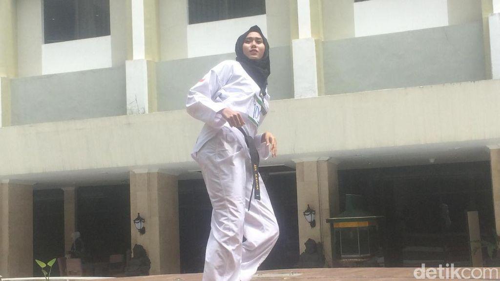 Hijabers Juara Taekwondo Eksis di Audisi Sunsilk Hijab Hunt Yogyakarta