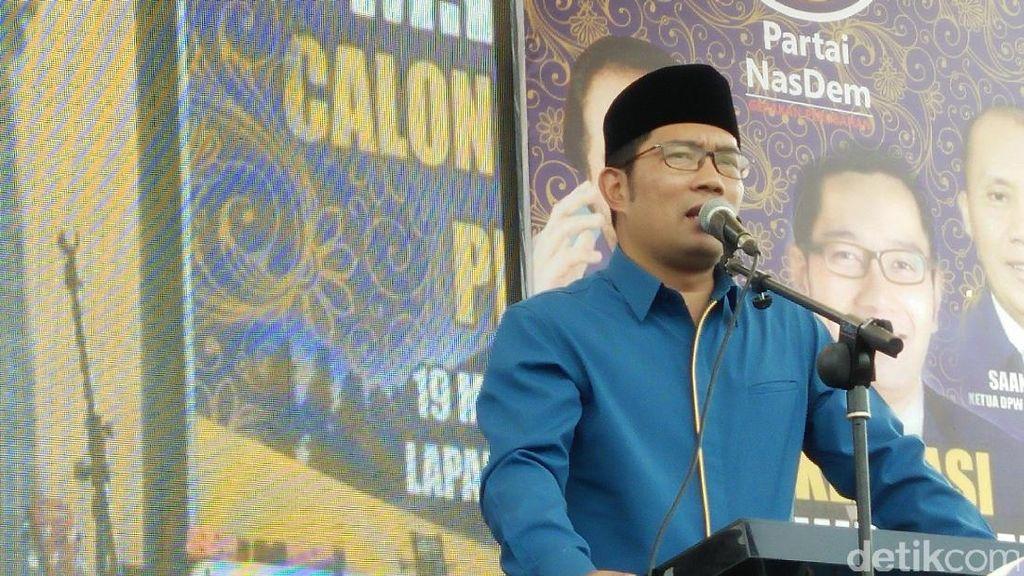 Pengamat: Ridwan Kamil dan Demiz Terancam Jomblo di Pilgub Jabar