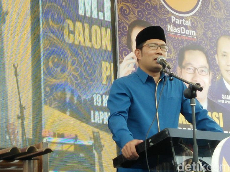 Kata Ridwan Kamil soal Syahwat Politik Maju Jadi Cagub Jabar
