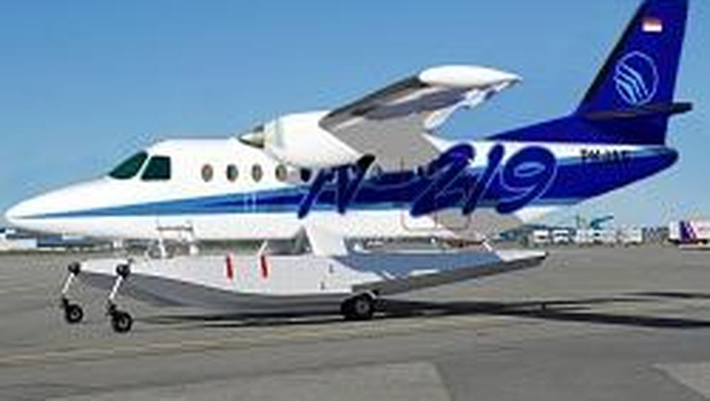 Begini Penampakan Pesawat PTDI yang Bisa Mendarat di Air