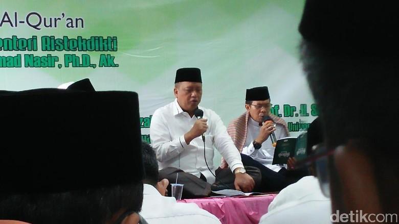 Bahas Dosen Anggota HTI, Menristekdikti akan Kumpulkan Rektor
