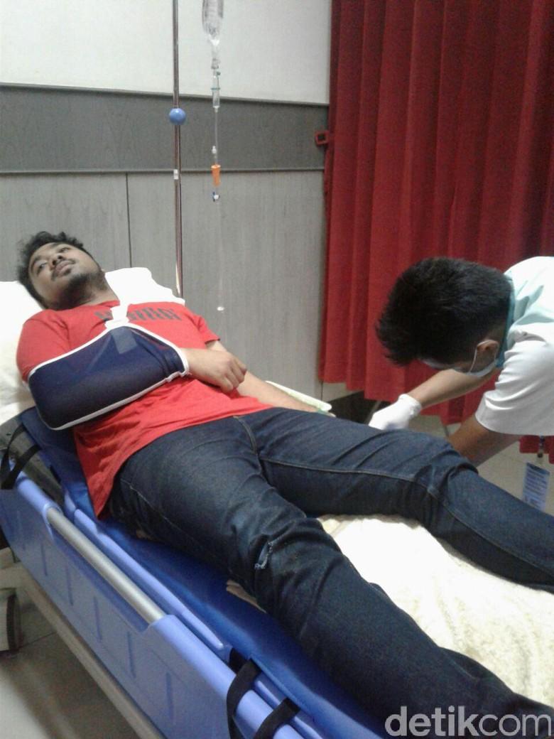 Siapa Gerombolan Bermotor Pengeroyok Pemred Radio di Bandung?