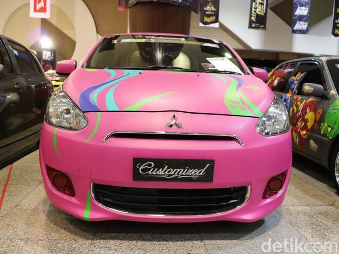 Modif Mitsubishi Mirage untuk Istri Tercinta