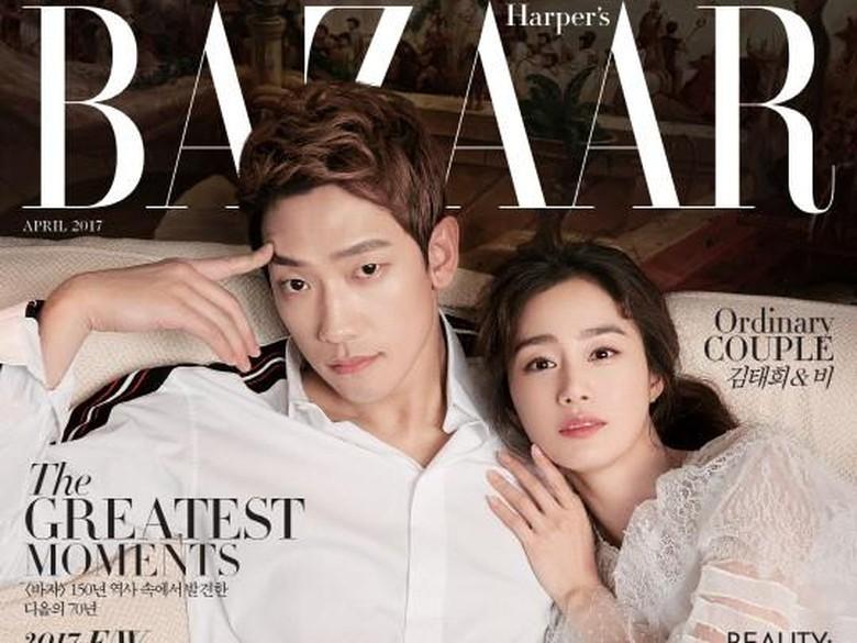 Keluarga Rayakan Kelahiran Anak Pertama Rain-Kim Tae Hee