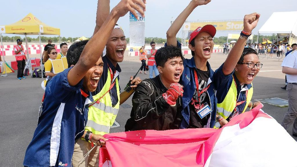 Mahasiswa Indonesia Berjaya di Shell Eco-marathon