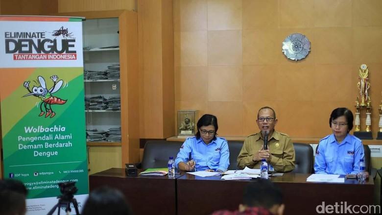 Pelepasan Nyamuk Ber-Wolbachia Diperluas di Yogyakarta