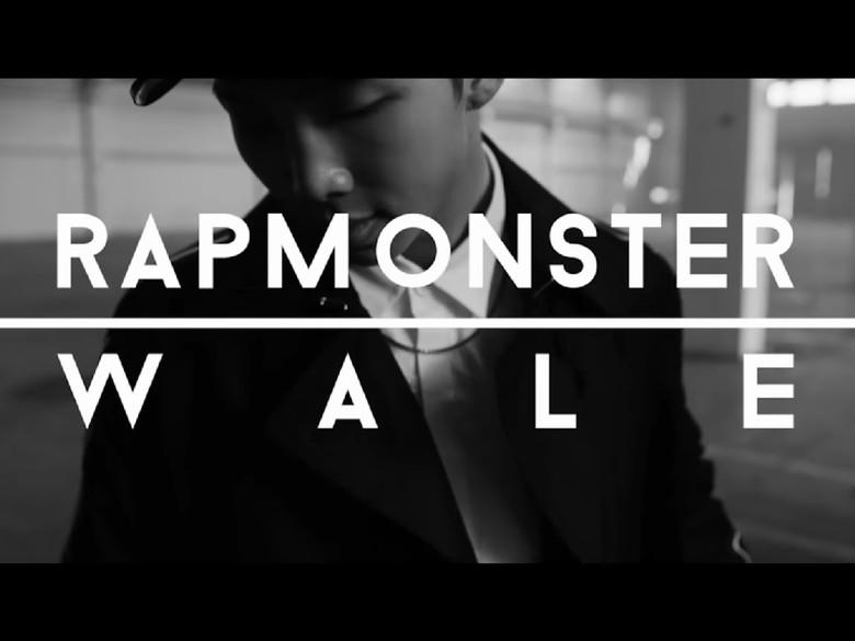 Big Hit Rilis Video Kolaborasi Rap Monster BTS dengan Rapper Wale