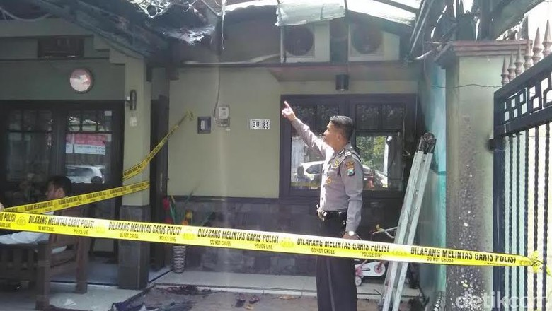 Ketua DPD PAN Gresik Diteror, Rumah Dilempar Bom Molotov