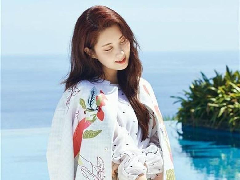 Cantiknya Seohyun SNSD Pemotretan di Bali untuk Majalah