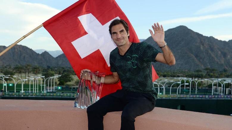 Federer Tak Menyangka Mampu Gas Pol di Tahun 2017