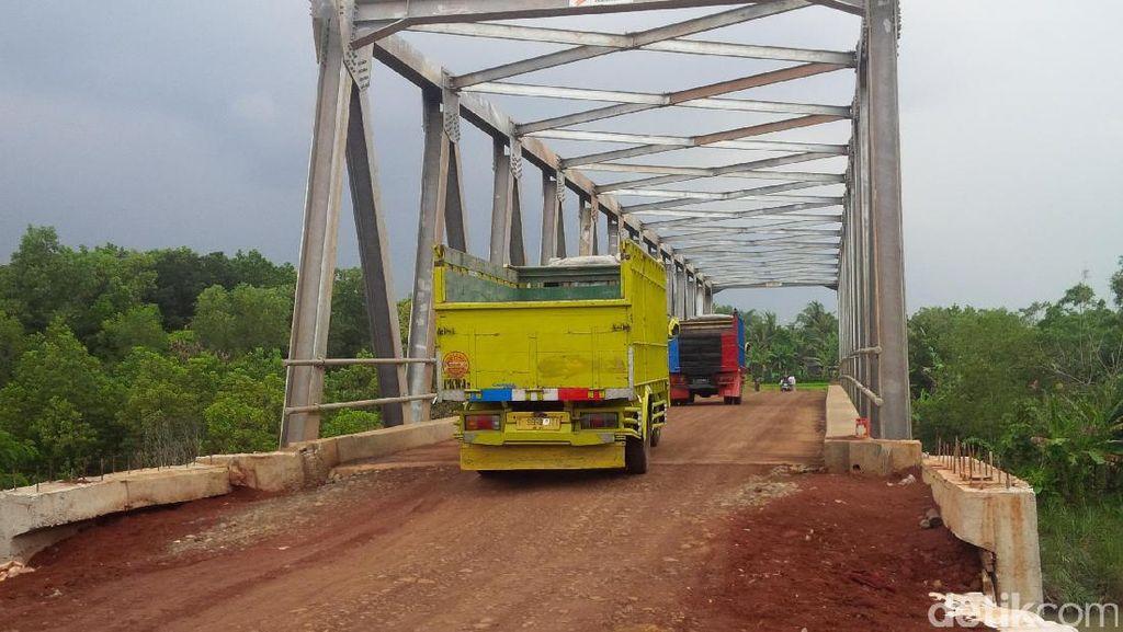 Melihat Jembatan Cijunti, Penyambung Asa Perbatasan Purwakarta-Subang