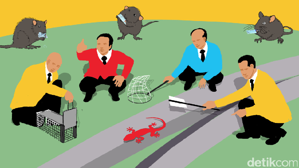 Dua Pukulan Balik Senayan