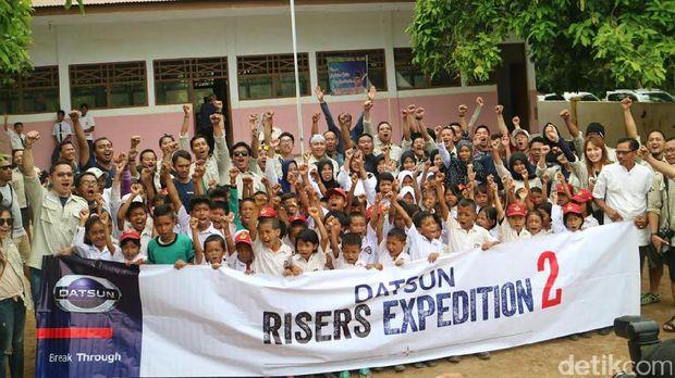 Datsun Selesaikan Ekspedisi Terakhir di Sulawesi Selatan