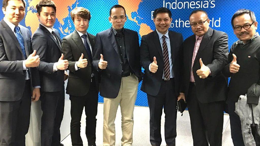 Artis Korea Kepincut Lombok, Garuda Indonesia Ikut Promosi Wisata