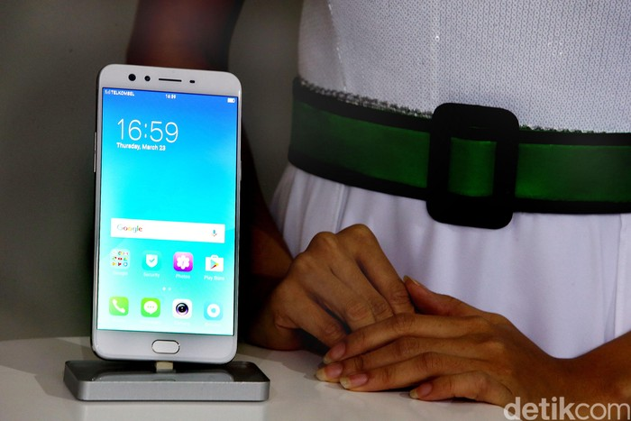 Smartphone Android. Foto: Rengga Sancaya