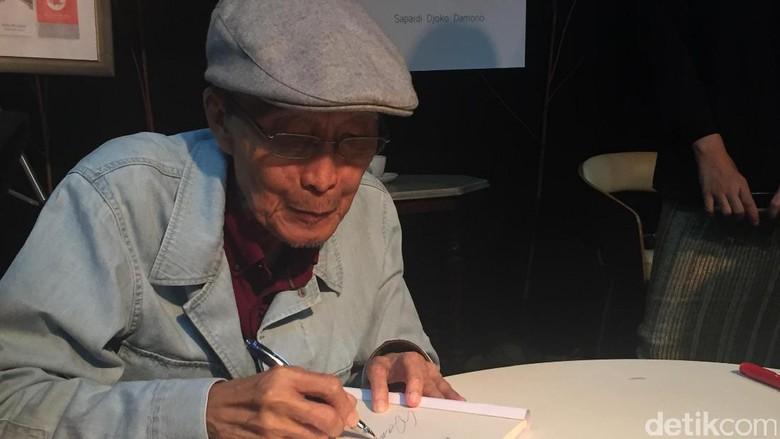 Sapardi Djoko Damono Segera Terbitkan Novel Yang Fana Adalah Waktu