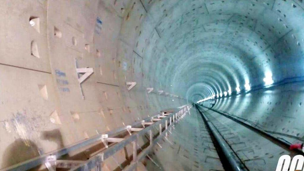 4 Tahun Dibangun, Konstruksi MRT Jakarta Capai 80%
