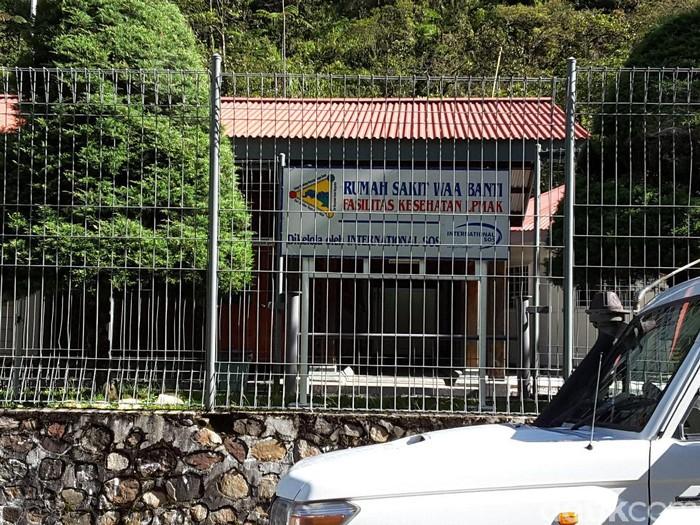 RS Wa Banti di Tembagapura (Foto: Radian/detikHealth)