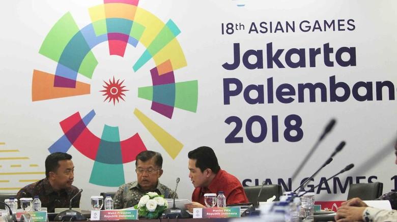 Soal Nomor Pertandingan Asian Games 2018, Wapres Tekankan Prinsip Efektif & Efisien