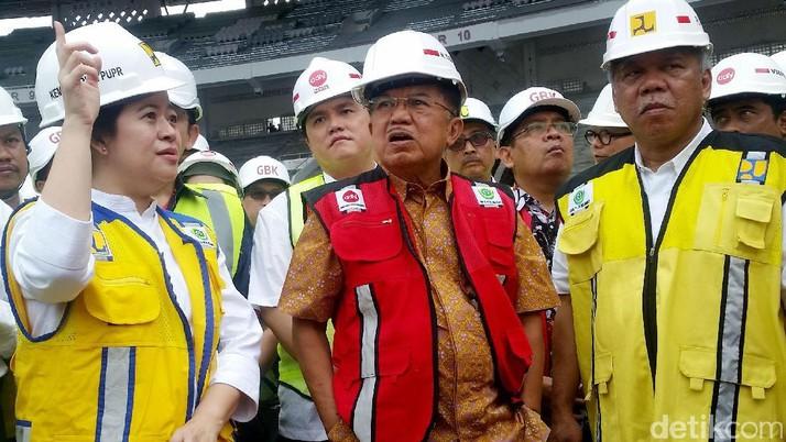 Jusuf Kalla Tinjau Venue Asian Games 2018