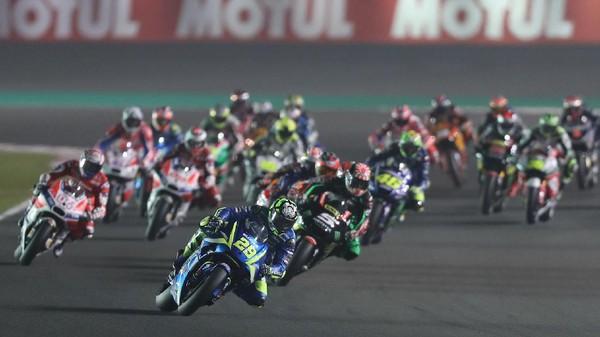 Momen-momen Terbaik MotoGP Qatar 2017