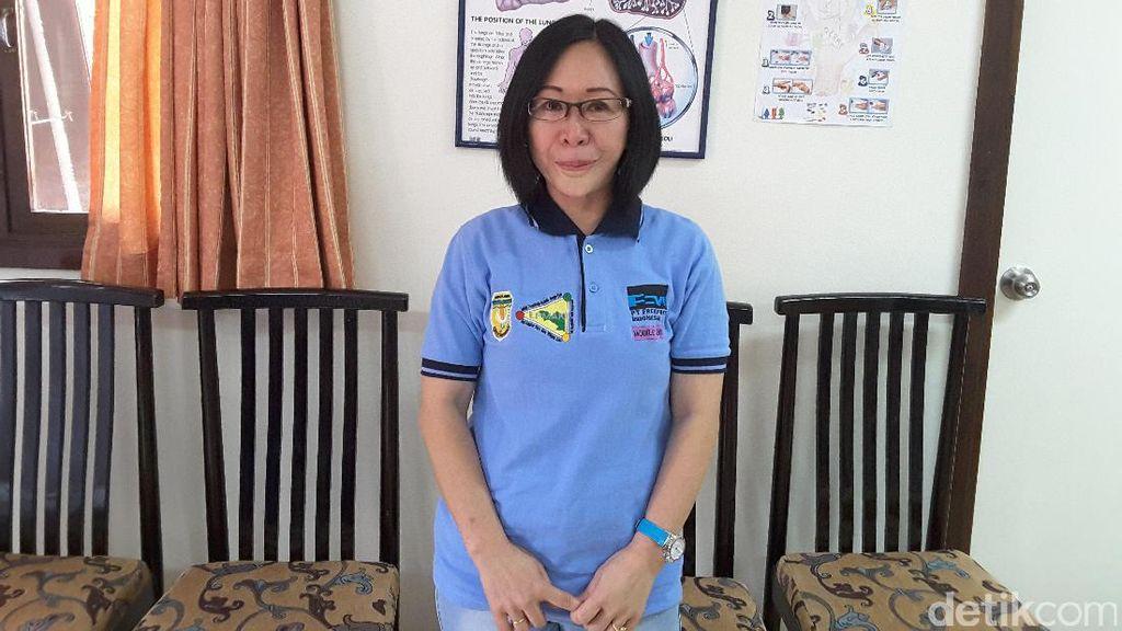Suka Duka dr Milka Ajari Masyarakat di Tembagapura Pola Hidup Sehat