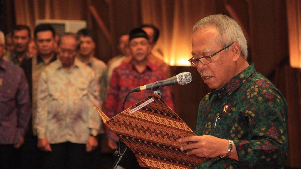 Menteri PUPR Lantik 91 Pejabat Eselon II dan III