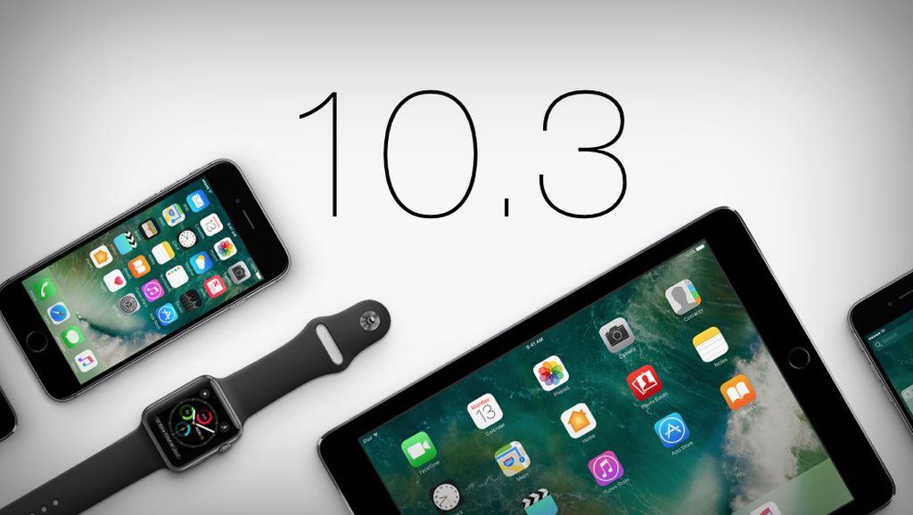 iOS 10.3 Bikin Ruang Penyimpanan iPhone Lega