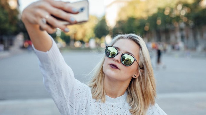 Ilustrasi Selfie. Foto: Thinkstock