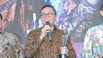 Raih Best Legislator 2017, Ketua MPR: Pemacu Semangat Kami