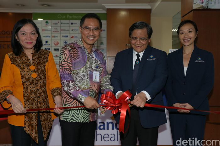 Konter khusus Mandiri Inhealth telah diresmikan di RS Royal Progress, Rabu (29/3/2017).