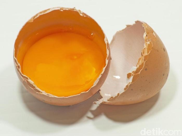 Ilustrasi kuning telur/Foto: Thinkstock