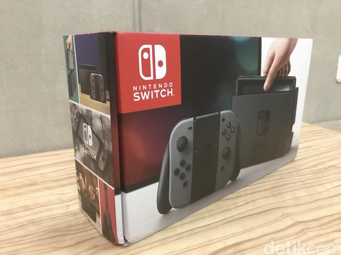 Nintendo Switch. Foto: afr/detikINET