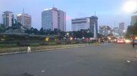 Massa Aksi 313 sudah meninggalkan lokasi aksi