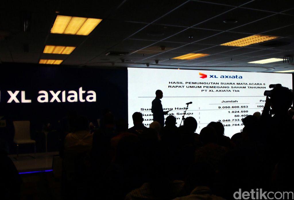 President Director & CEO XL Axiata, Dian Siswarinimenegaskan komitmennya untuk membawa perusahaan fokus menuju perusahaan layanan digital (digital-focused company).