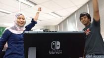 Laris-manis, Nintendo Makin Geber Produksi Switch
