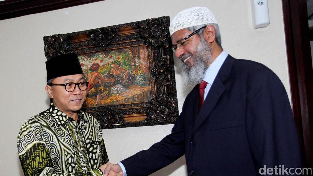 Zakir Naik Bertemu Ketua MPR Zulkifli Hasan